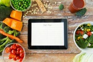 Варианты составления плана питания